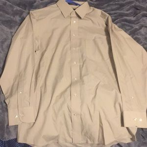 Stafford Dress Shirt (Size 32-33, 15-15.5 Neck)